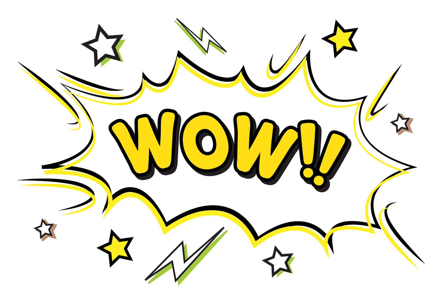 Download exclamation comics pattern. Wow clipart exclamatory