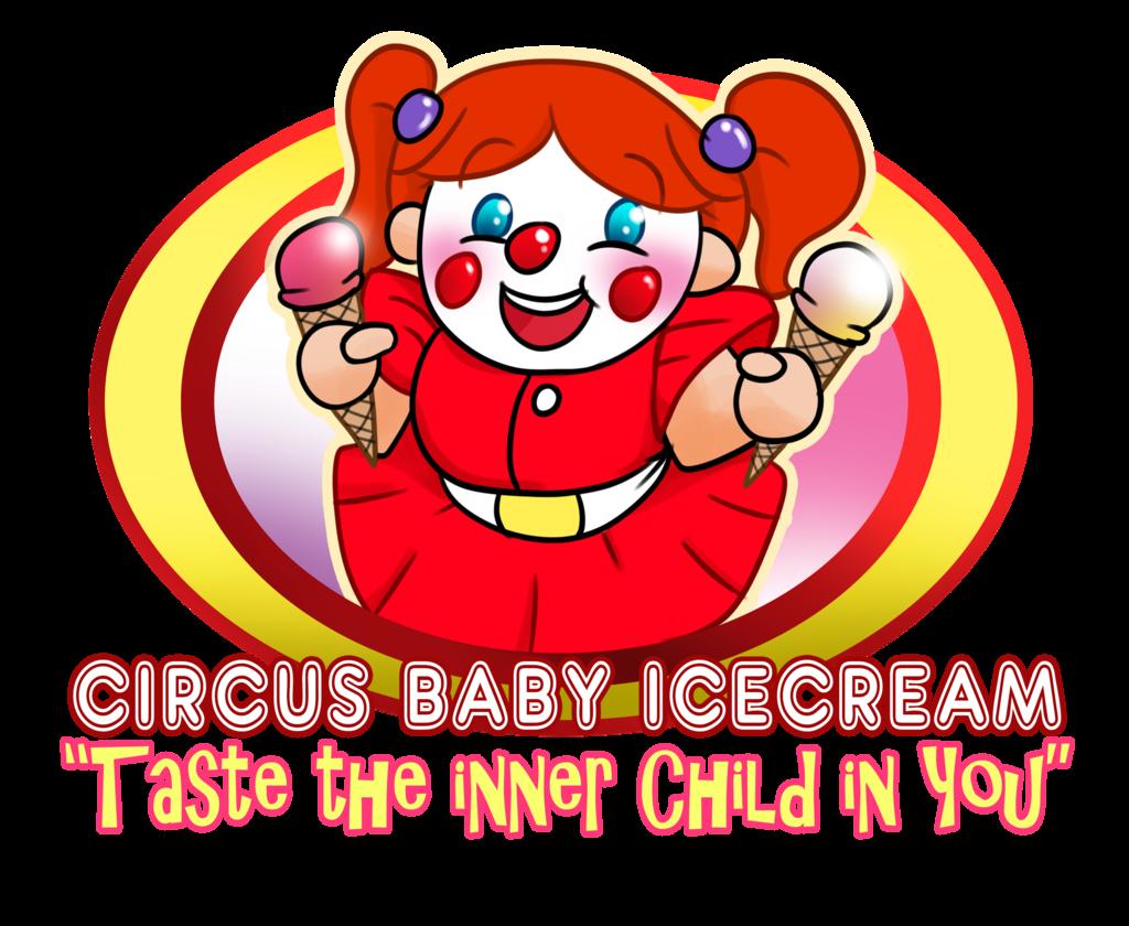 Circus baby ice cream. Wow clipart oh yeah