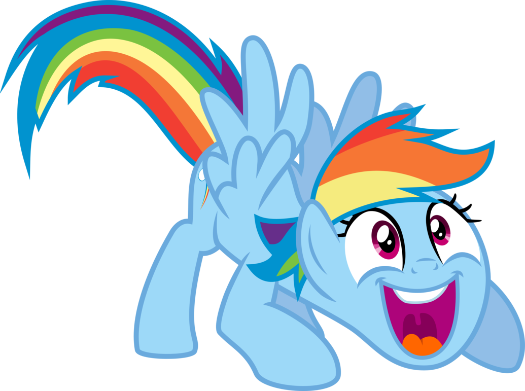 Wow clipart oh yeah. Rainbow dash by jeatz
