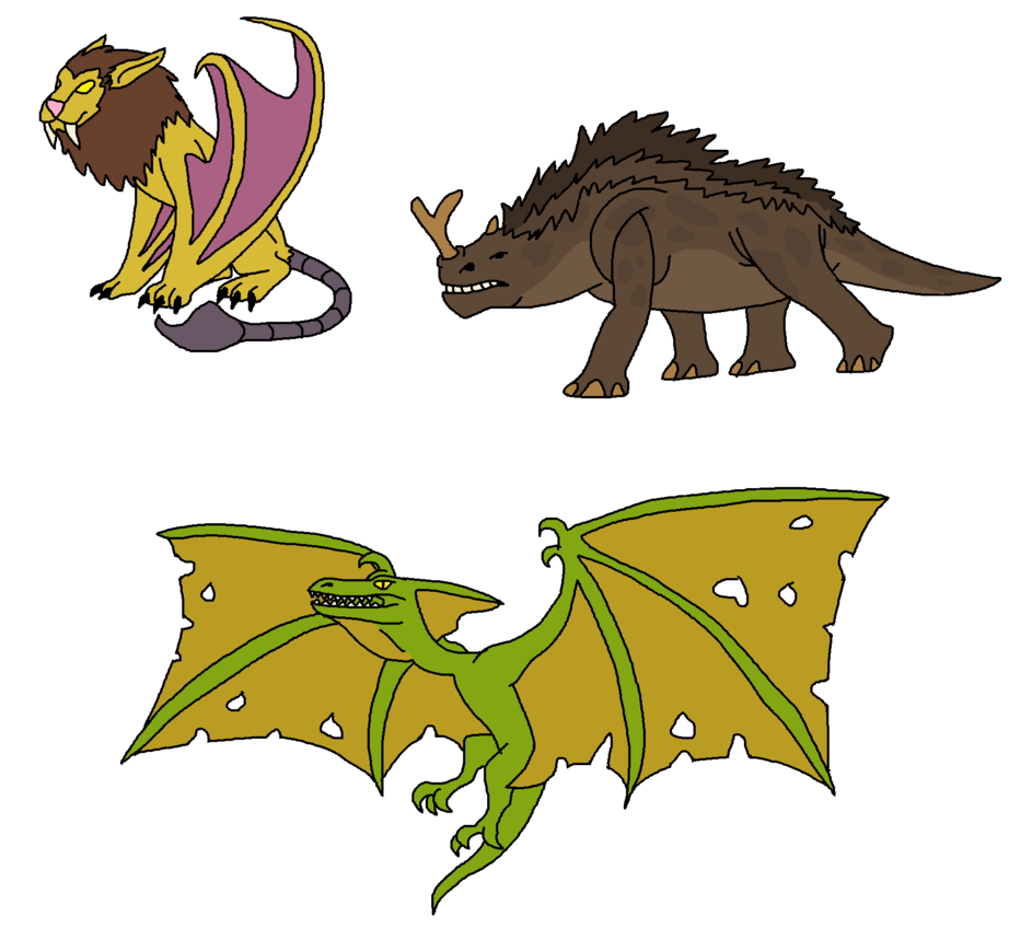 Creatures by themightysaurus on. Wow clipart pop art