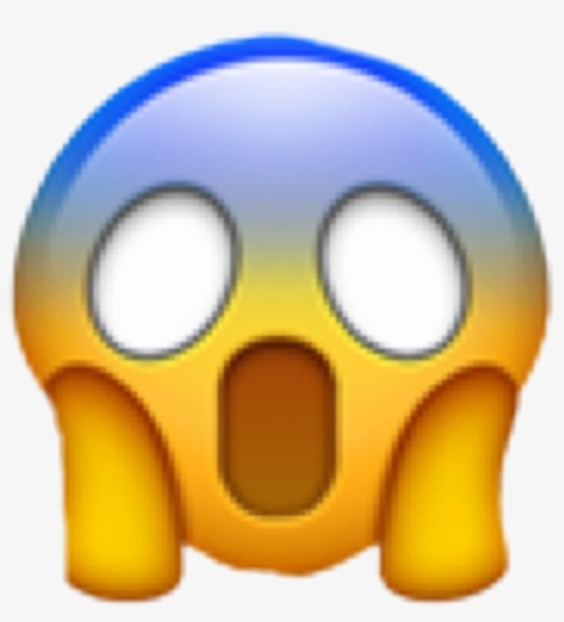 Wow clipart shock. Shocked emoji omg freetoedit