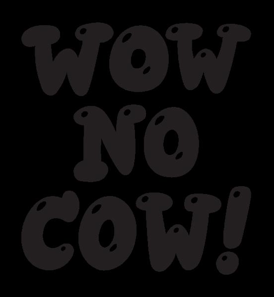Stickerapp no cow sticker. Wow clipart svg