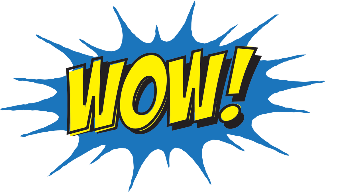 Wows and wonders from. Wow clipart word wonderful