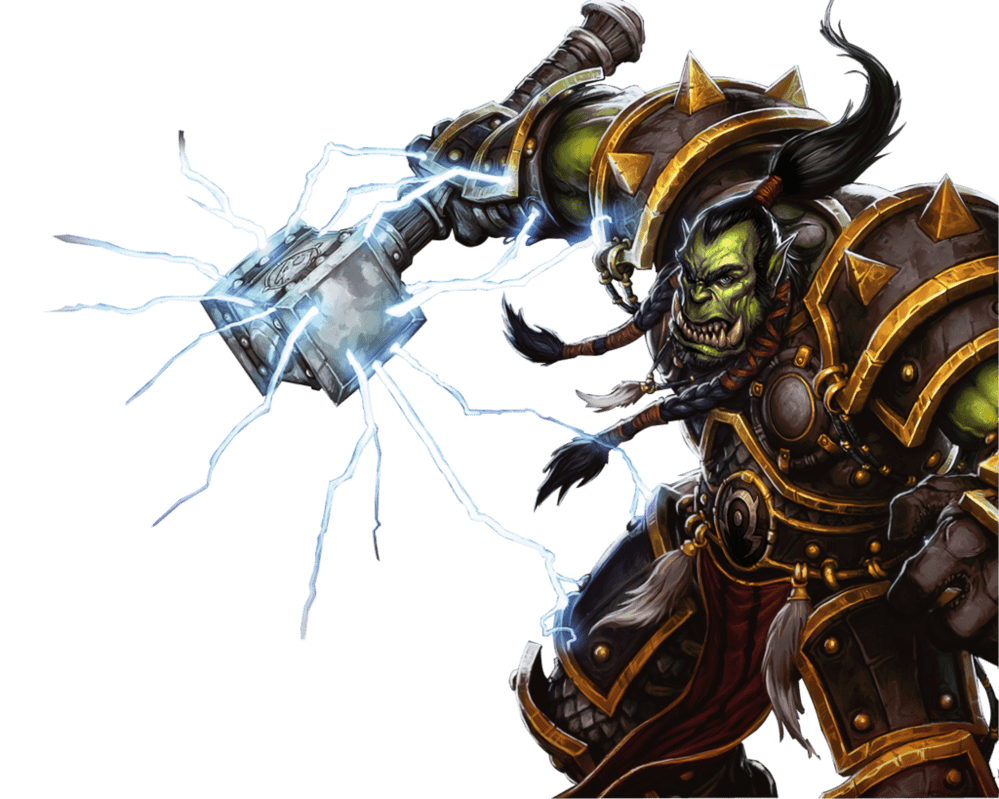 Of thrall side view. Wow clipart world warcraft