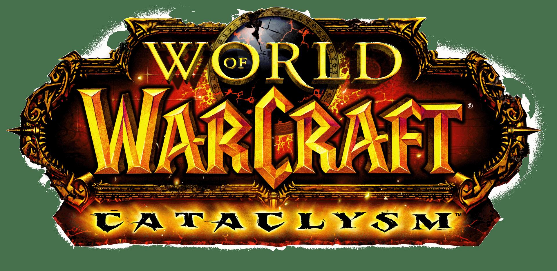 Of cataclysm logo transparent. Wow clipart world warcraft