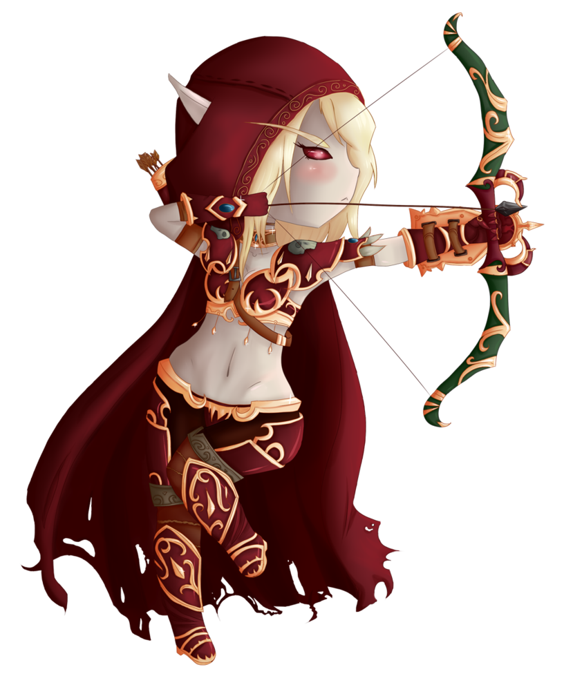 World of warcraft sylvanas. Wow clipart wow person