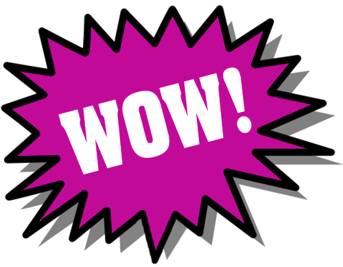 Wow clipart wow word. Words clip art library