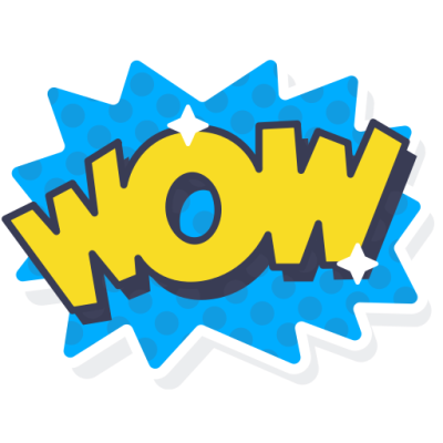Png dlpng com . Wow clipart wow word