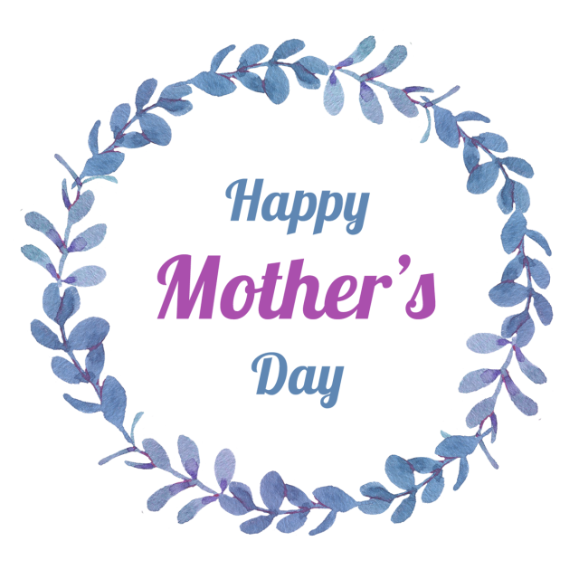 Special mother s day. Wreath vector png