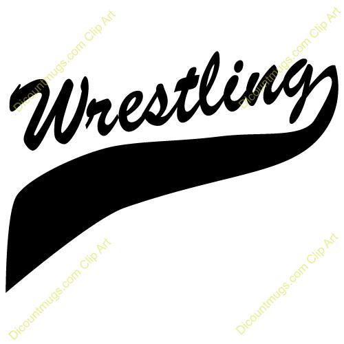 Wrestling clip art greats. Wrestlers clipart banner