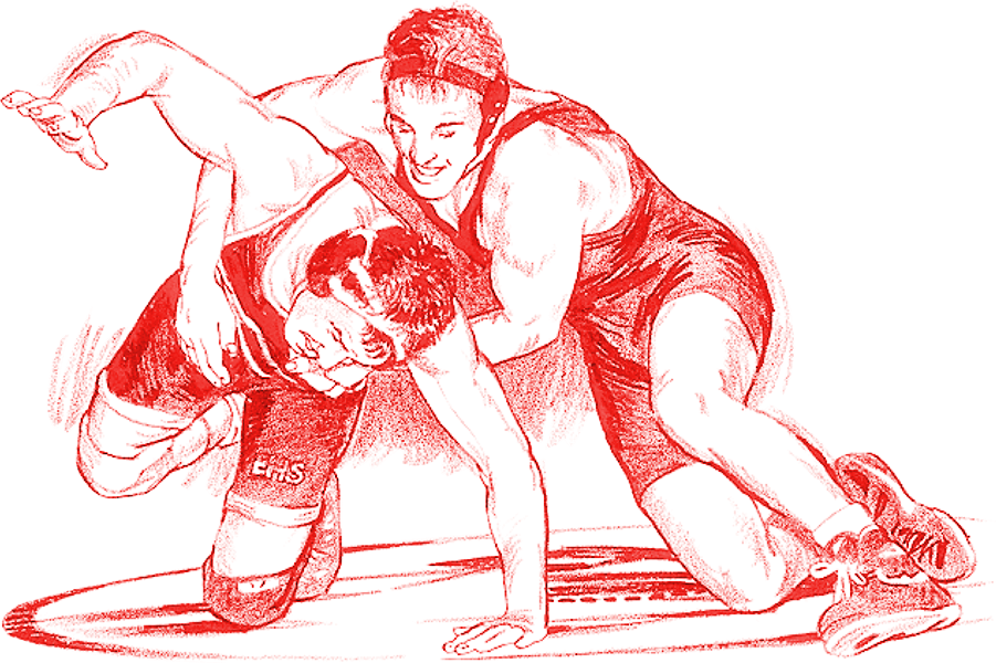 Wrestlers clipart boys wrestling. High school postville community