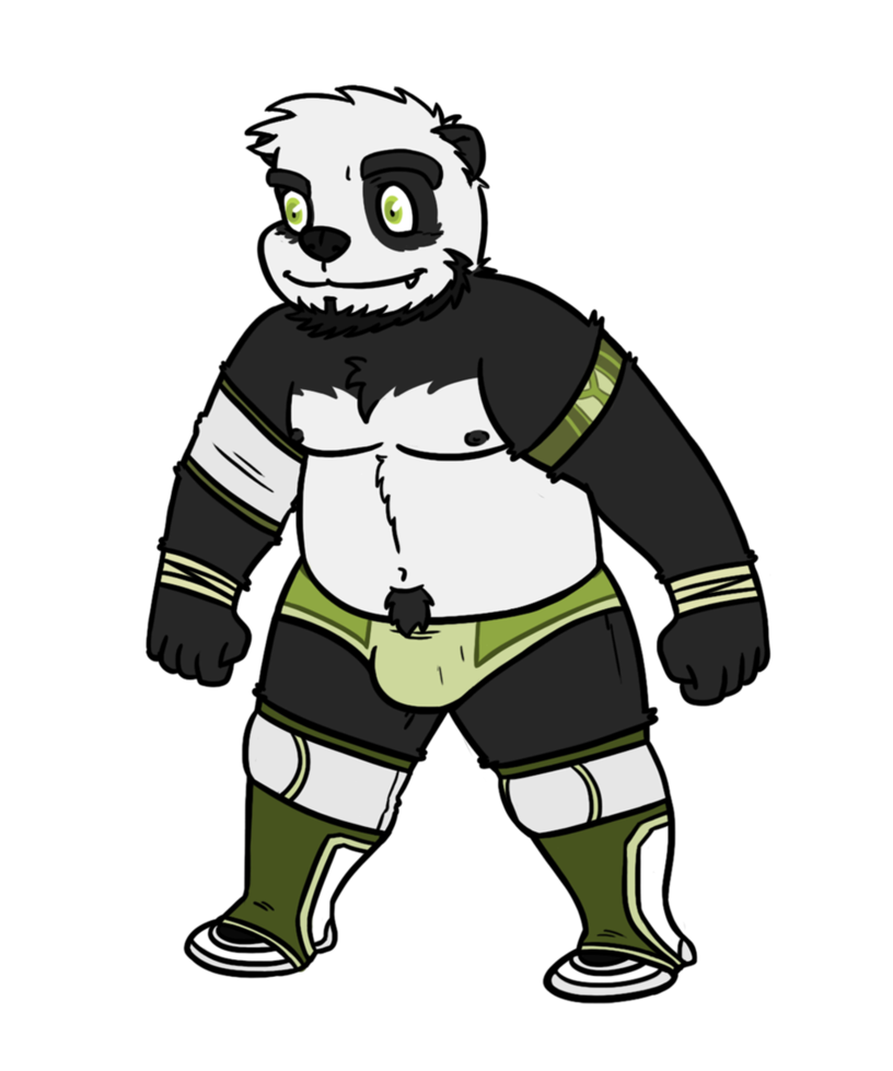 Wrestling attire pokun by. Wrestlers clipart drawing