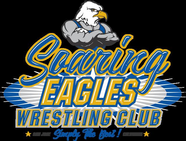 Soaring eagles wrestling club. Wrestlers clipart greco roman