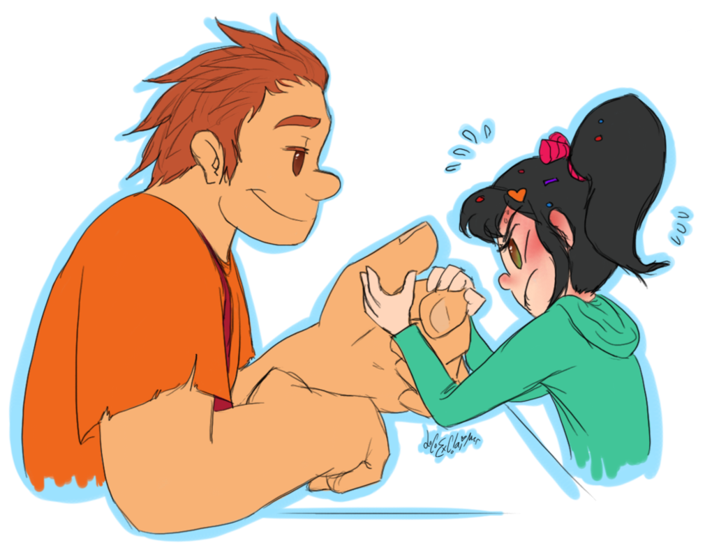 Wir arm wrestling by. Wrestlers clipart kid