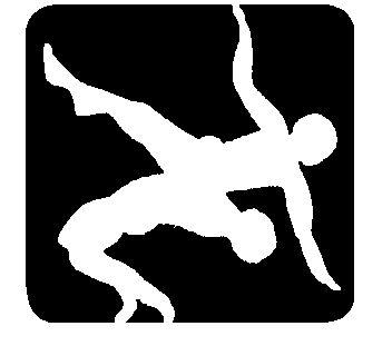 Wrestling logos clip art. Wrestlers clipart logo