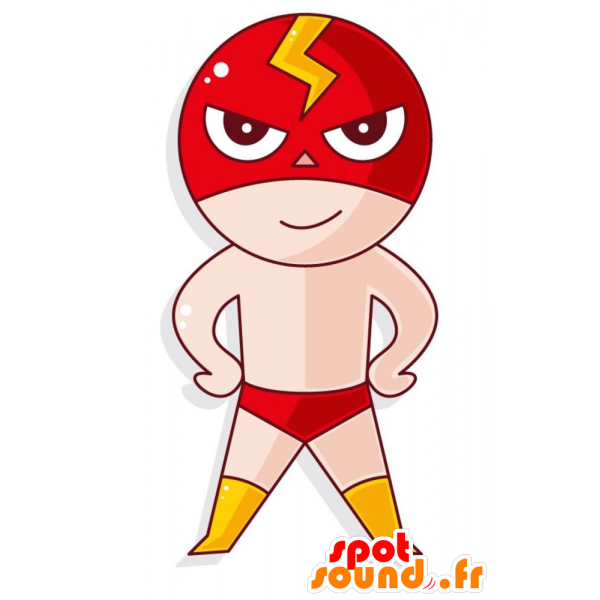 Purchase wrestler with panties. Wrestlers clipart mascot