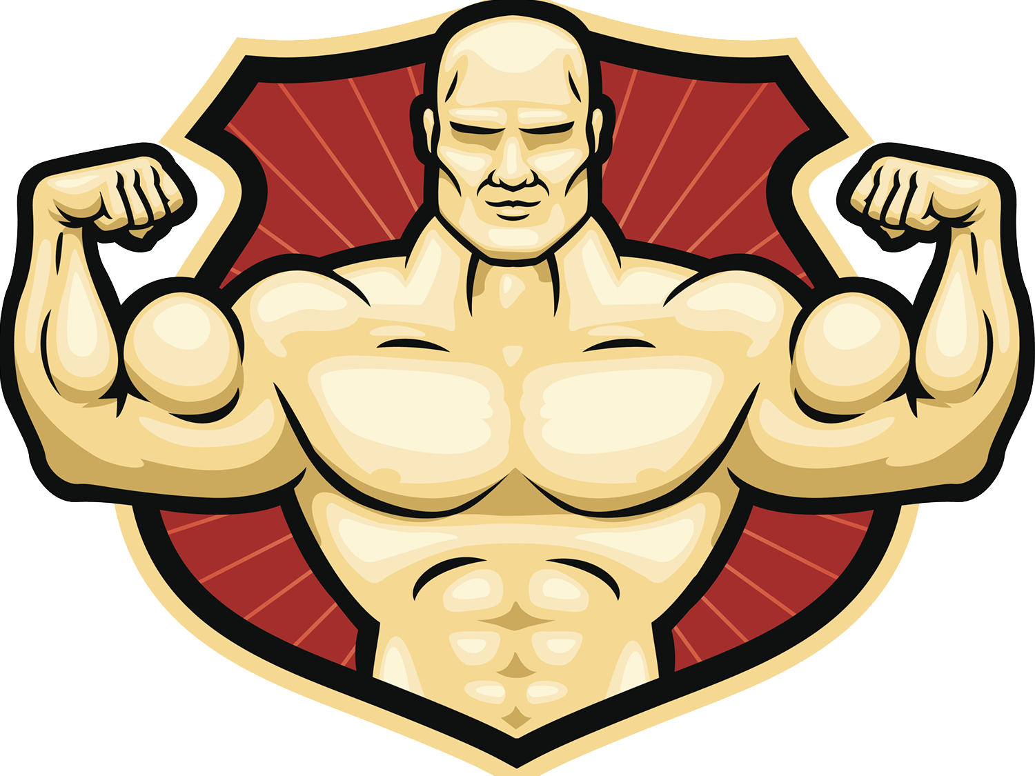 Lucha libre professional wrestling. Wrestlers clipart muscular