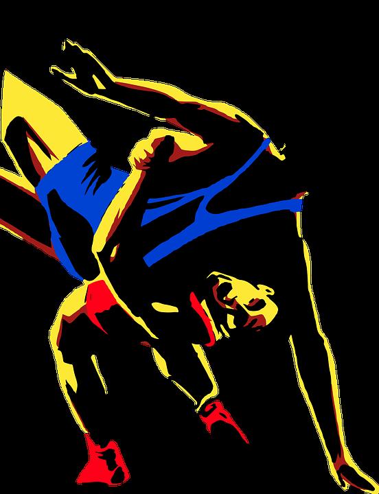 Wrestlers clipart pro wrestler. Messages author one wrestling