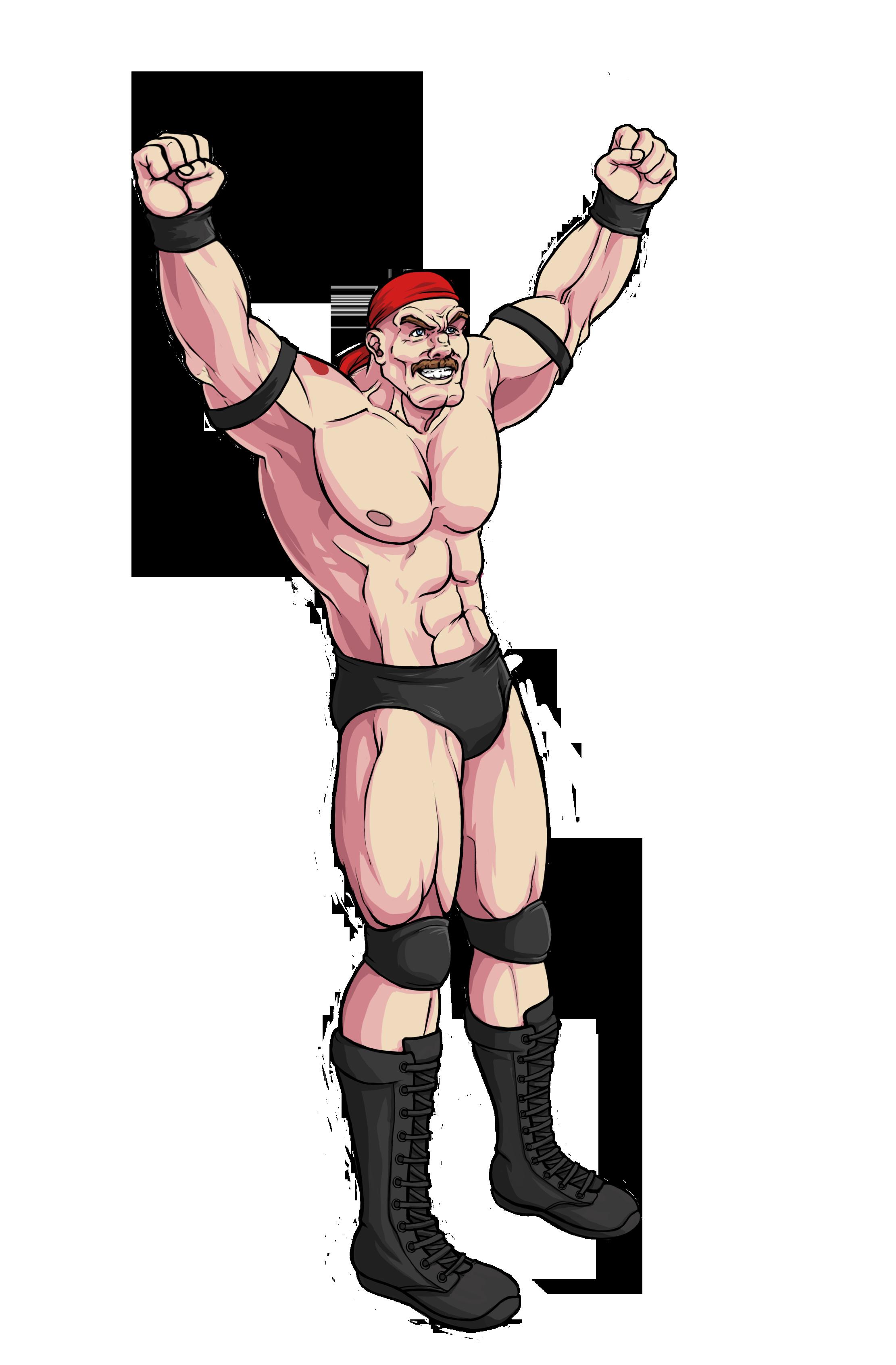 huge freebie download. Wrestlers clipart pro wrestler