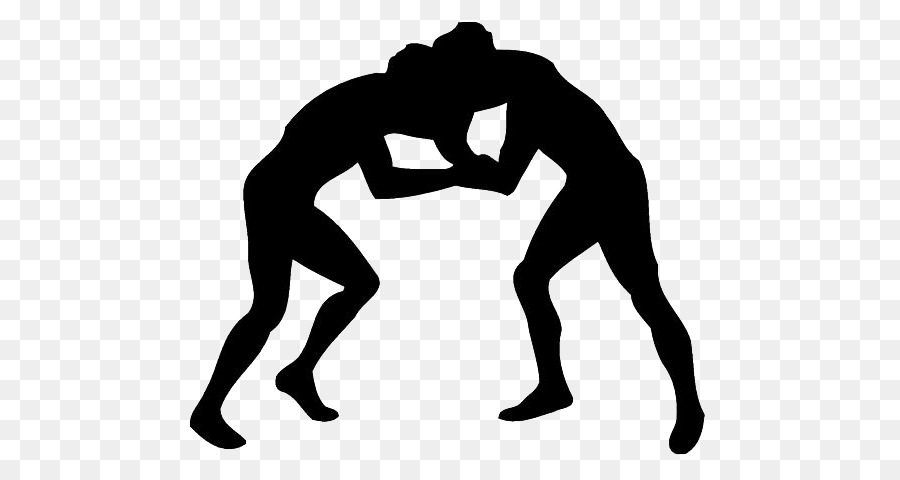Free pro wrestling download. Wrestlers clipart silhouette