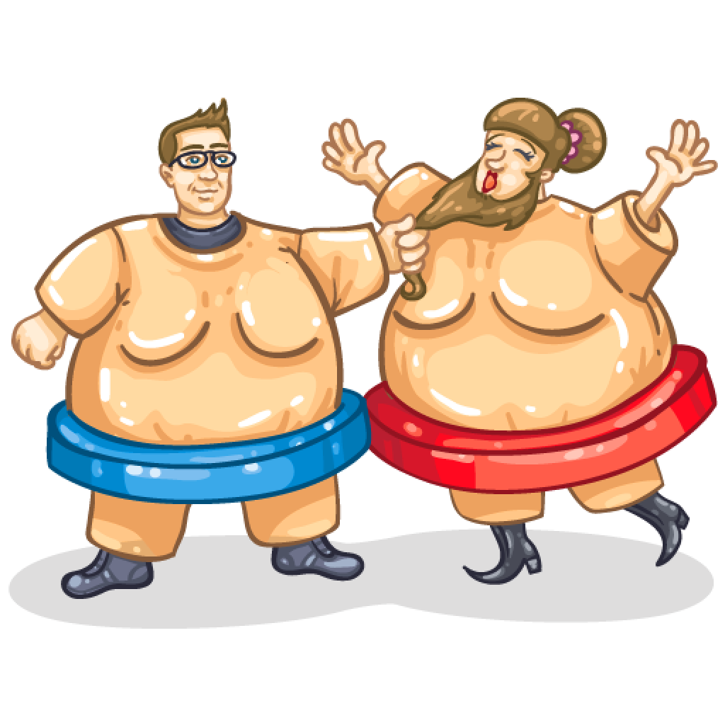 Item detail suits itembrowser. Wrestlers clipart sumo wrestler