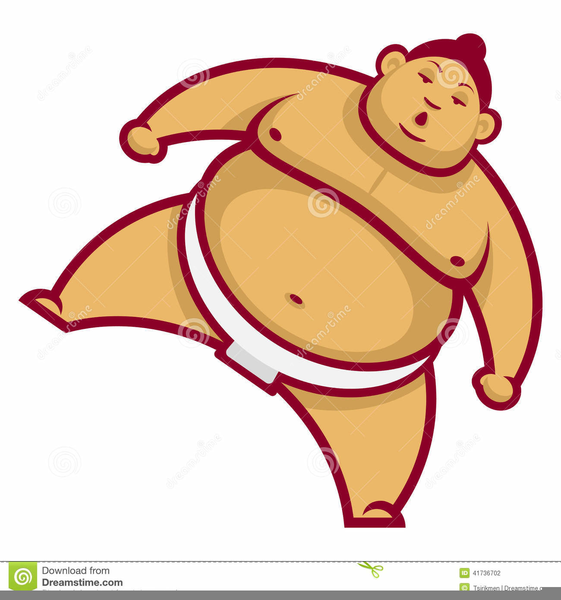 Free images at clker. Wrestlers clipart sumo wrestler