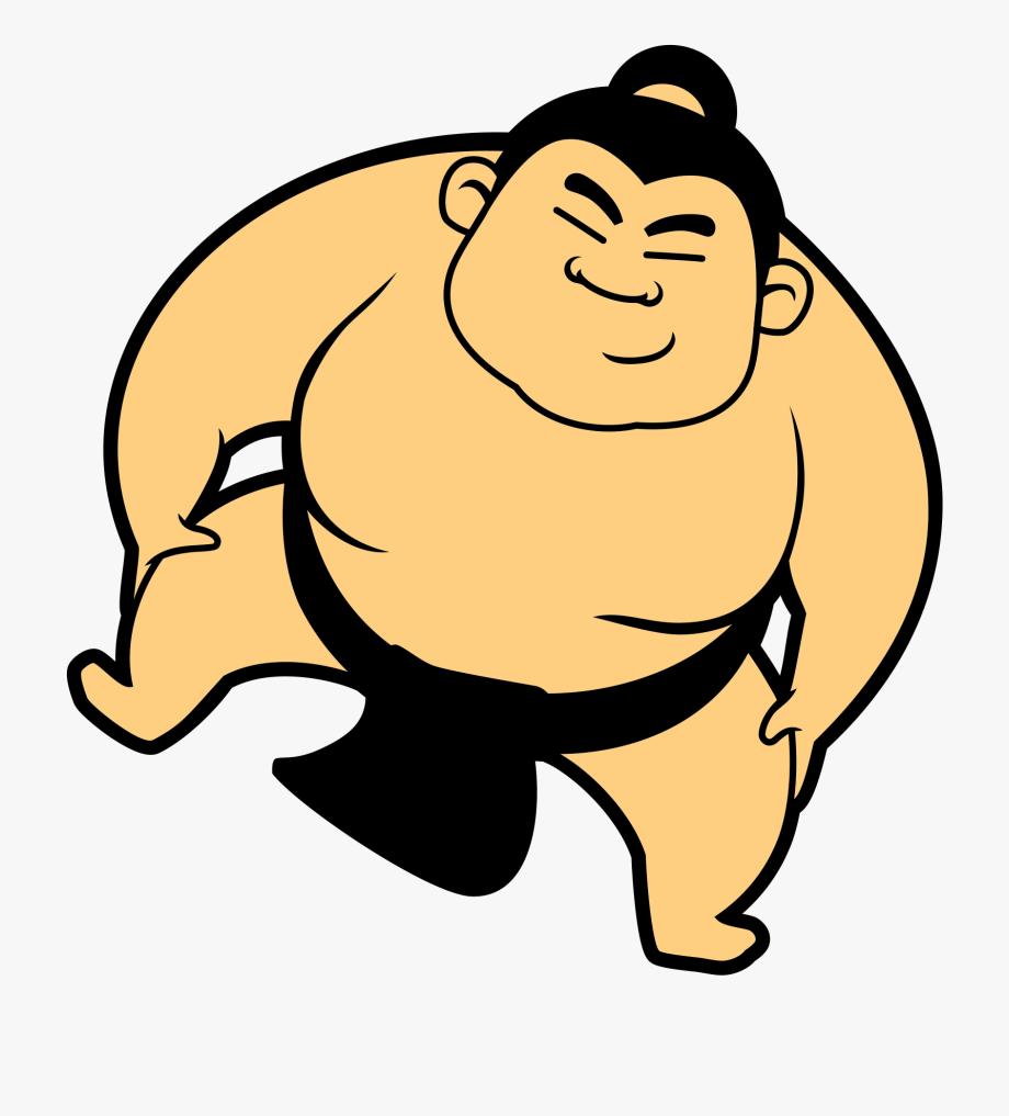 transparent free. Wrestlers clipart sumo wrestler