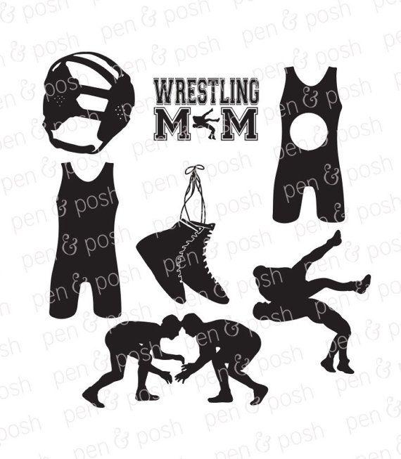 Wrestling files . Wrestlers clipart svg