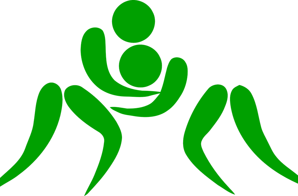 Wrestling png sport images. Wrestlers clipart two