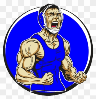 Wrestlers clipart victory. The sport of wrestling