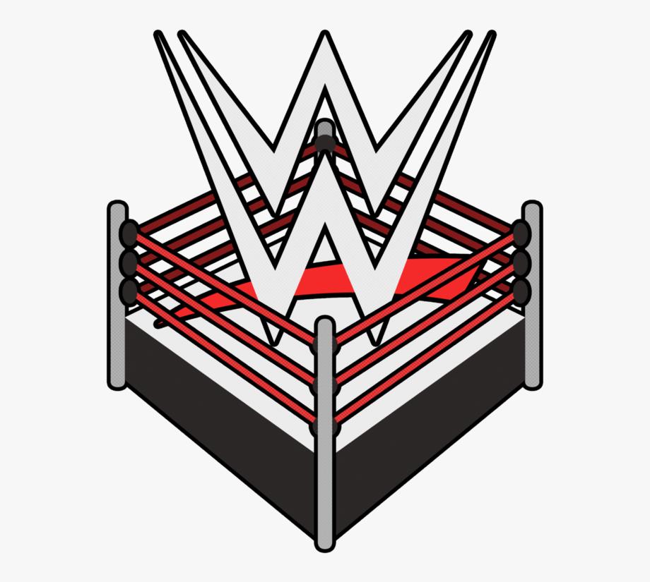 Wrestling ring logo png. Wrestlers clipart wrestler wwe