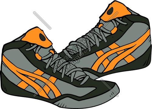 Shoes free download best. Wrestlers clipart wrestling shoe