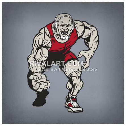 On rivalart com . Wrestlers clipart wrestling singlet