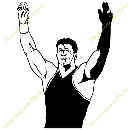 Wrestlers clipart wrestling winner. Wrestler panda free images