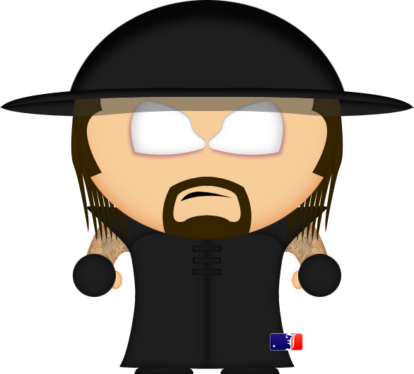 Wrestlers clipart wwe divas. The undertaker by spwcol