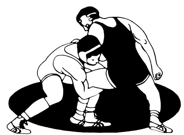 Wrestling clip art free. Wrestlers clipart