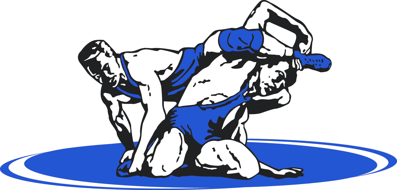 Blue clip art graham. Wrestling clipart