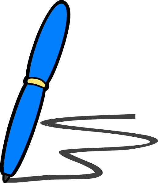 name clipart handwriting