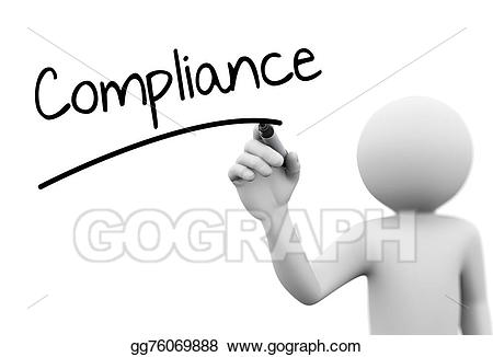 Stock illustration d person. Writer clipart adherence