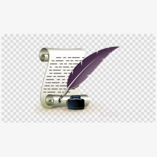 Service transparent png image. Writer clipart animated writing