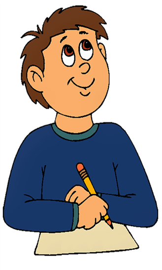 Writer clipart animated writing. Person cartoon nose transparent