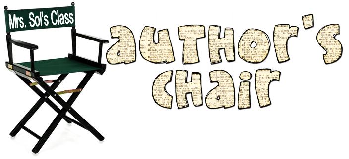 Bloggerific november author s. Writer clipart author's chair