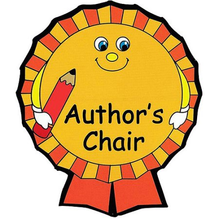 Writer clipart author's chair. Author free download best
