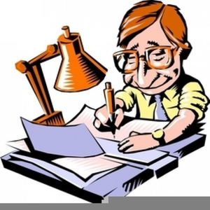 Writer clipart book writer. Free images at clker