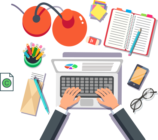 Writing services copywriting agency. Writer clipart content writer