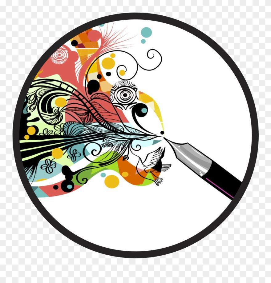 Meraki clip art for. Writer clipart creativity