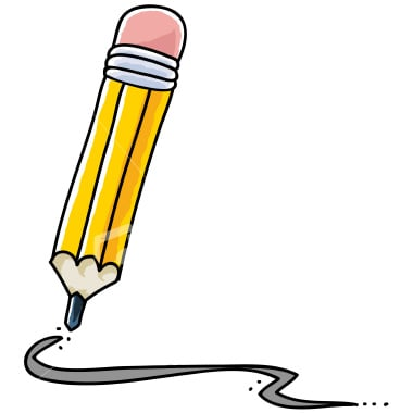 Writer clipart editor in chief. Pencil writing clip art