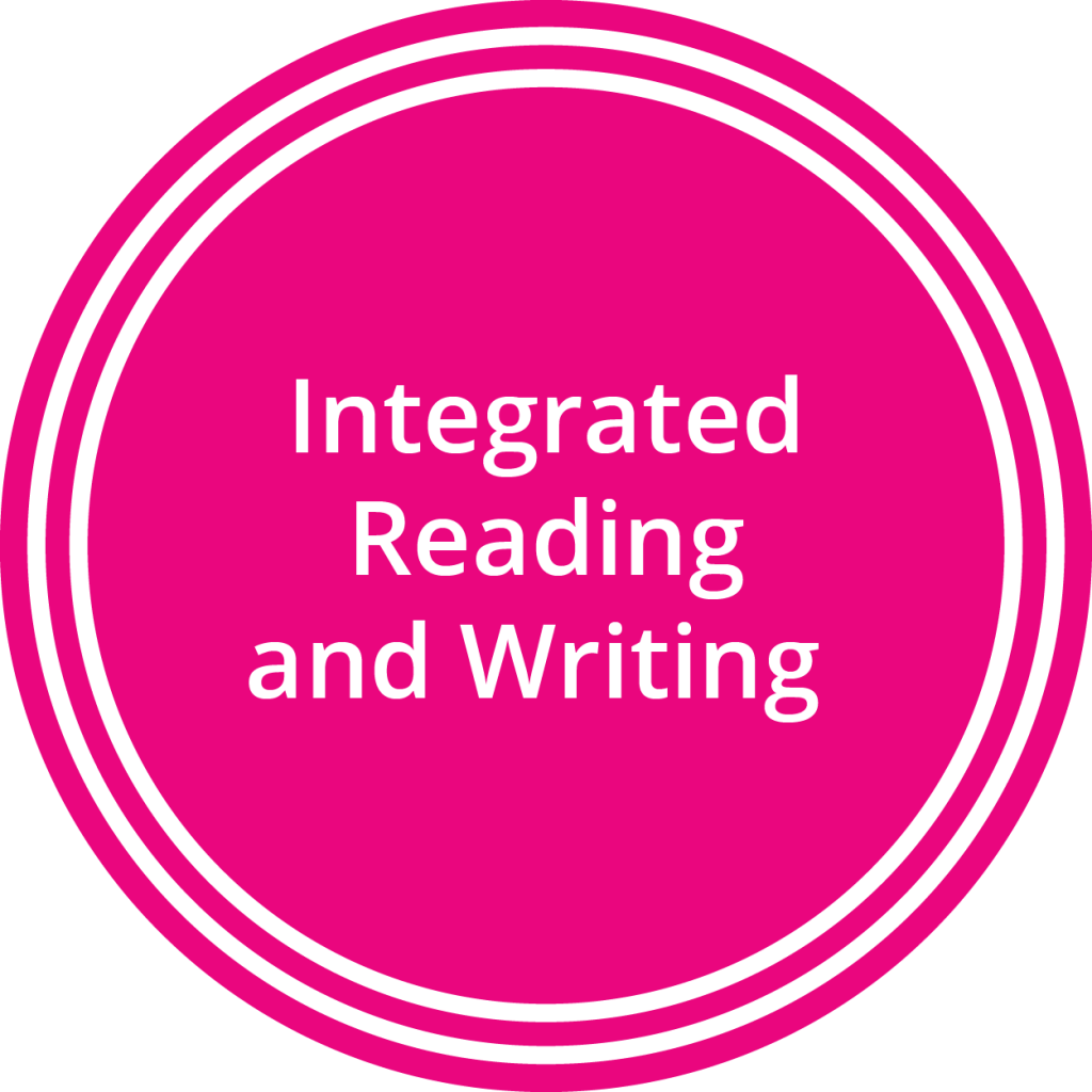 Integrated reading and writing. Writer clipart english composition