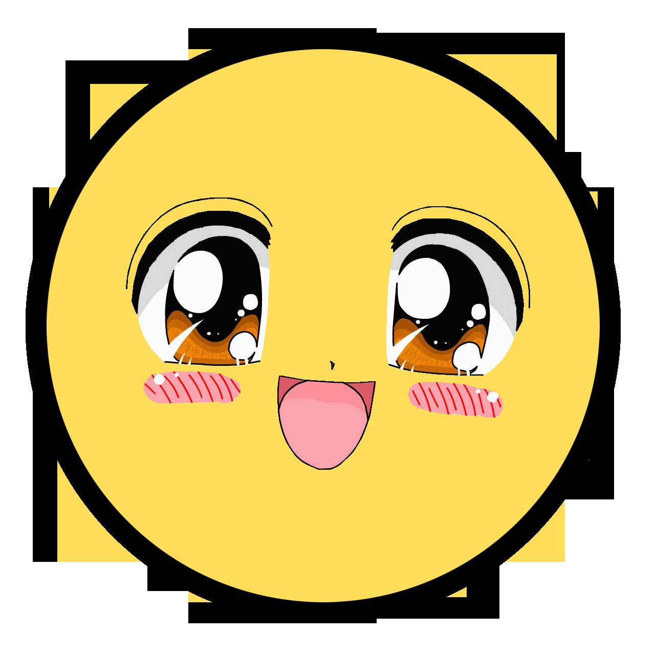 Anime epic faces pinterest. Writer clipart face smiley