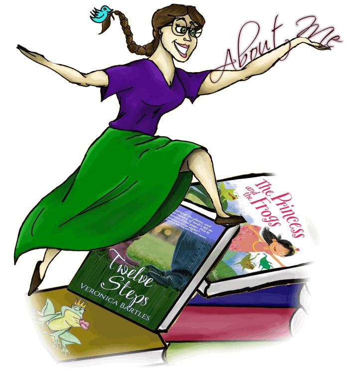Writer clipart female author. Veronica bartles of twelve